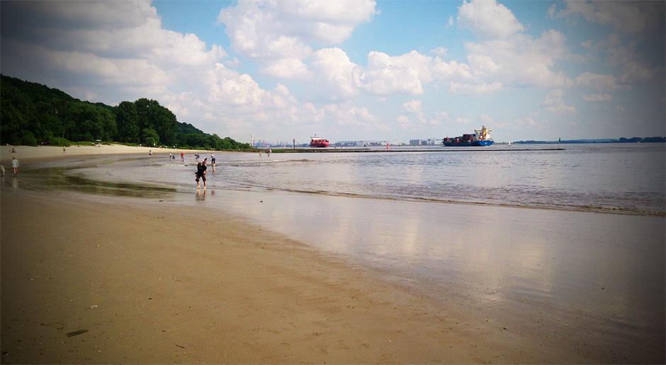 Das Falkensteiner Ufer ist gerade in den Sommermonaten ein sehr beliebtes Ausflugsziel.