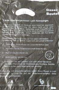Die Stadt Hamburg stellt Hundehaltern kostenlos Tüten zur Hundehaufen-Beseitigung zur Verfügung-
